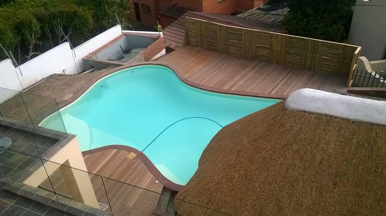 Freeform Swimming Pool Build