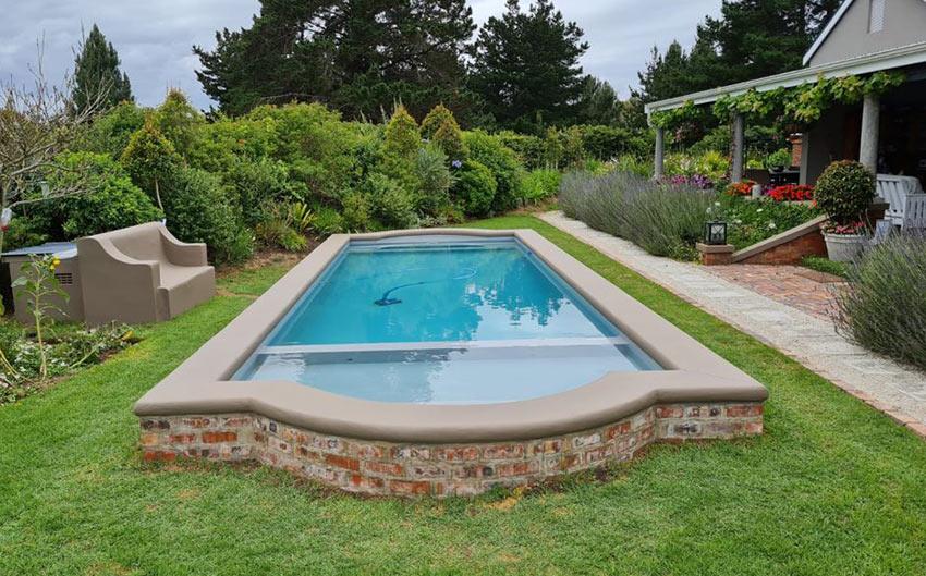 Raised Swimming Pool Build